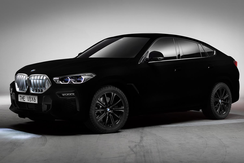 Vantablack BMW X6