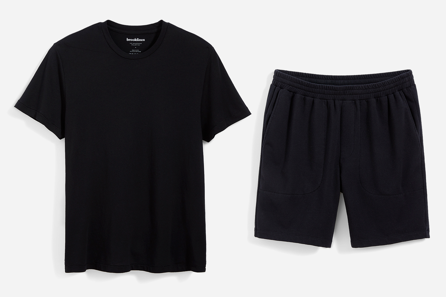 Brooklinen Prospect Tee and Bowery Short