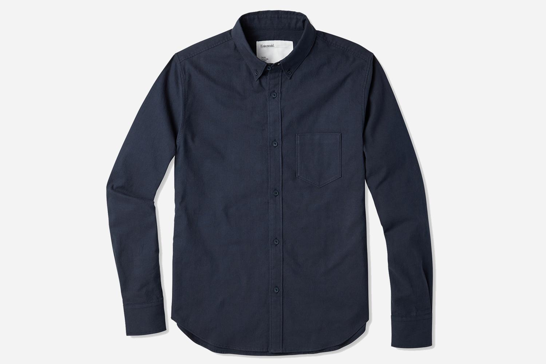 Entireworld Organic Cotton Oxford Button-Down