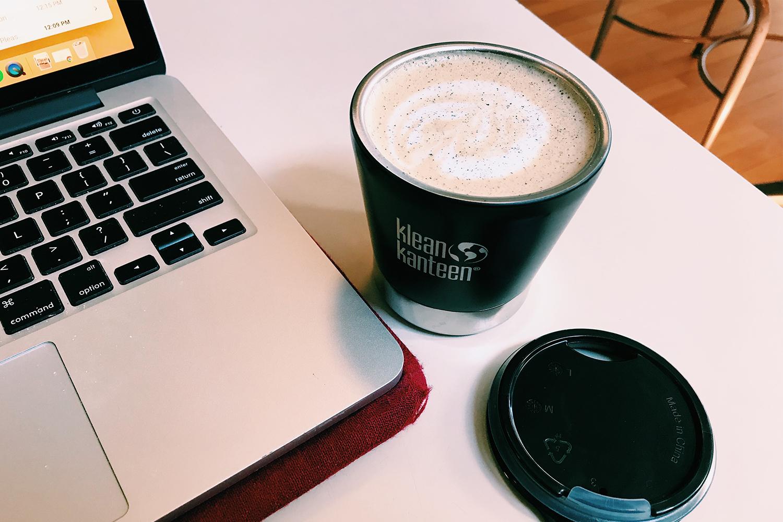 Klean Kanteen Reusable Coffee and Espresso Mug