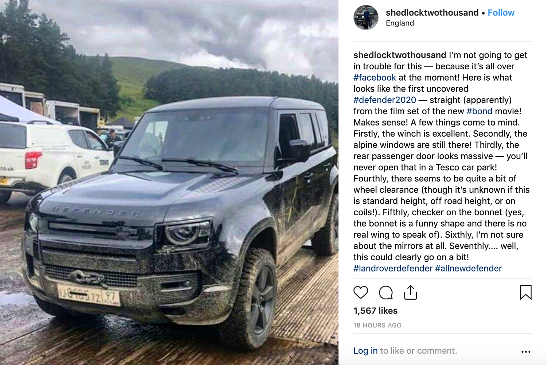 2020 Land Rover Defender Leaked Images