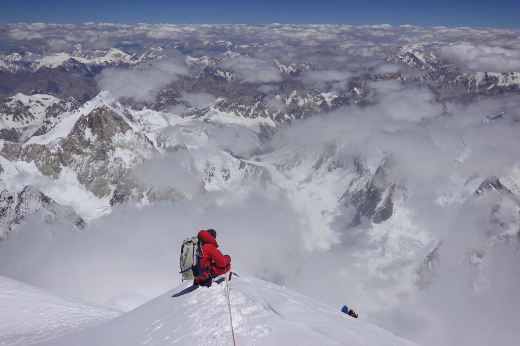 Why Adrian Ballinger Climbed 28,250-Foot K2 Without Oxygen