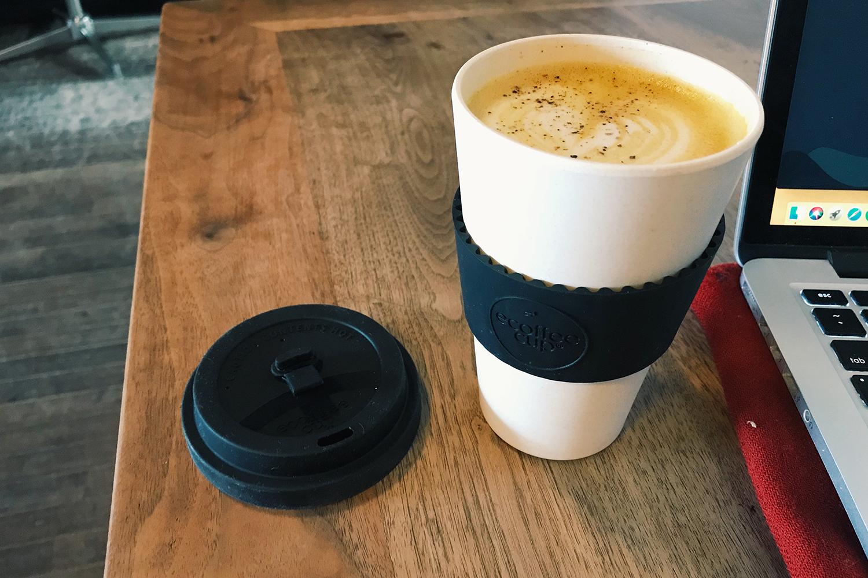 Ecoffee Cup 14oz Reusable Coffee Mug