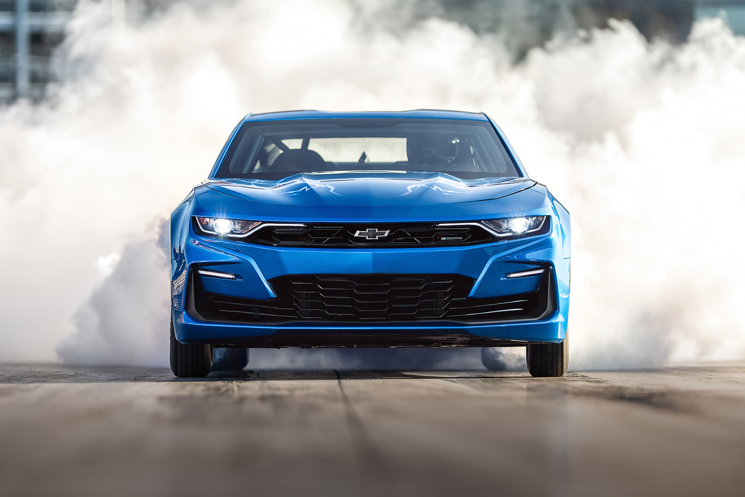 Chevrolet eCOPO Camaro Electric Drag Racer Concept Headed to