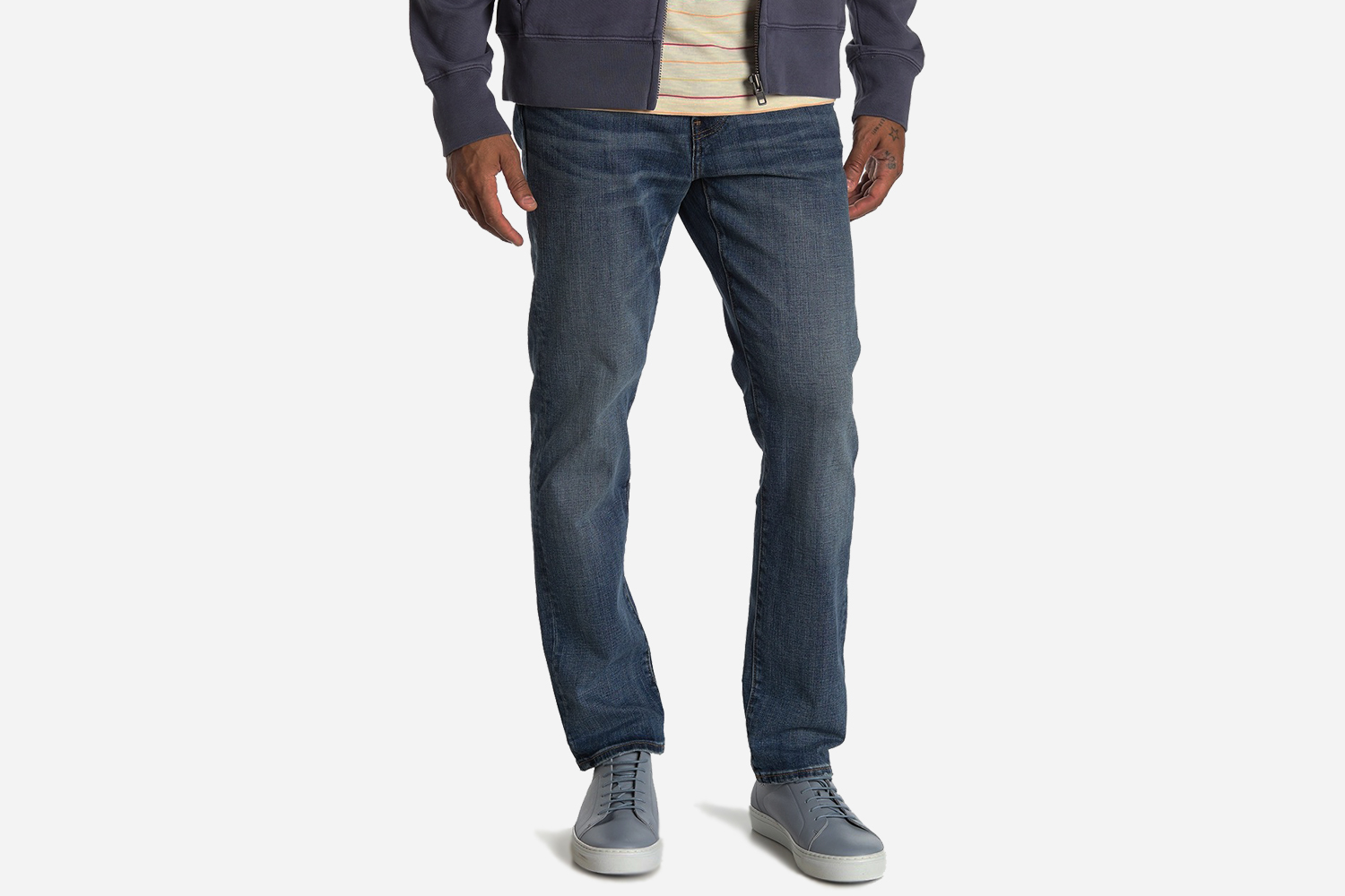 Madewell Men's Slim Fit Jeans in Erie Wash