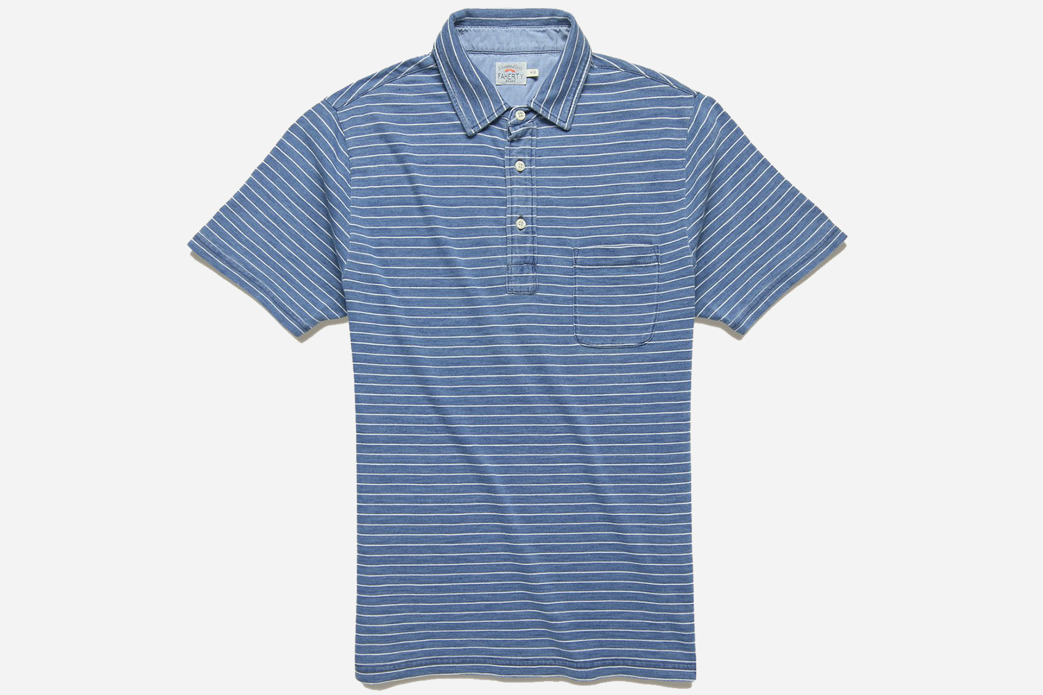 Faherty Men's Jersey Beach Polo