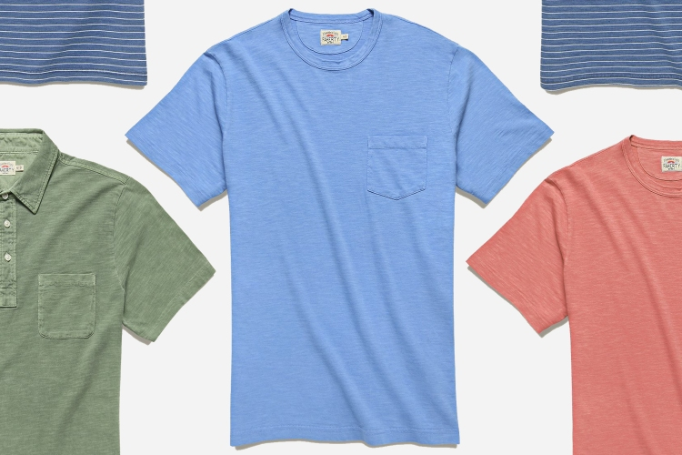 Faherty Men's T-Shirts and Polos