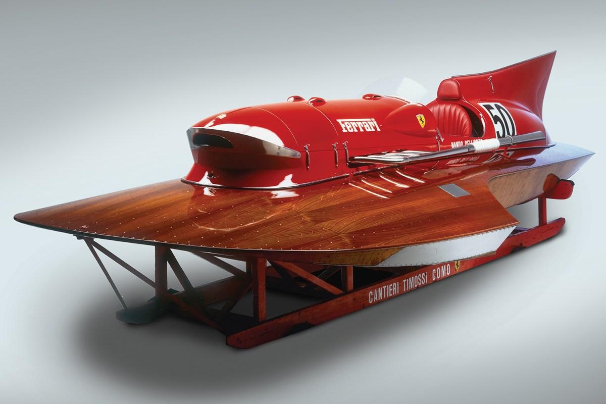 1952 Ferrari Arno XI Racing Boat