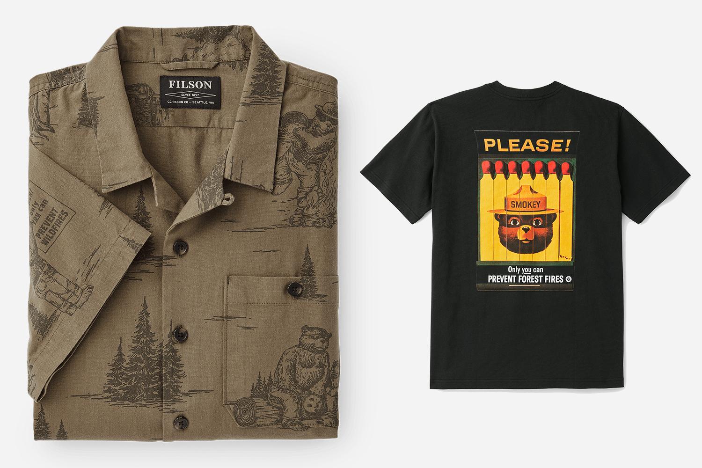 Filson Smokey Bear Clothing Collection 2019