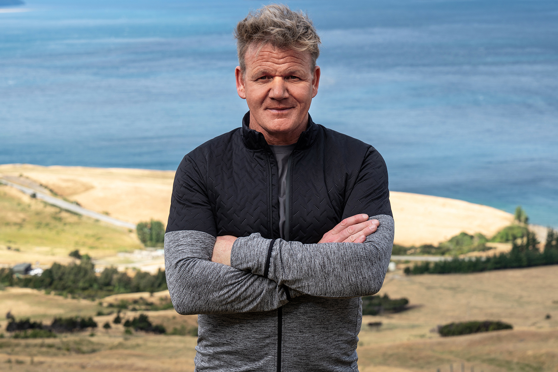 Celebrity chef Gordon Ramsay on Uncharted