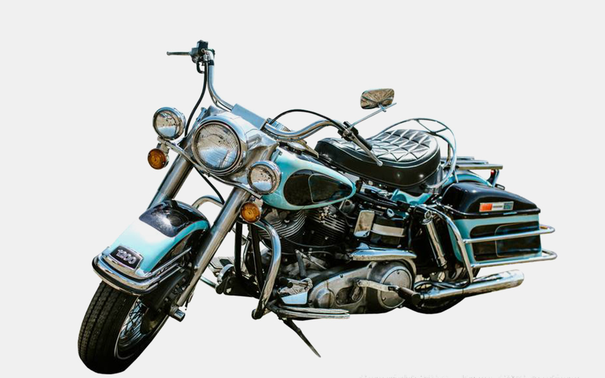 Elvis Presley's Harley Davidson for Sale