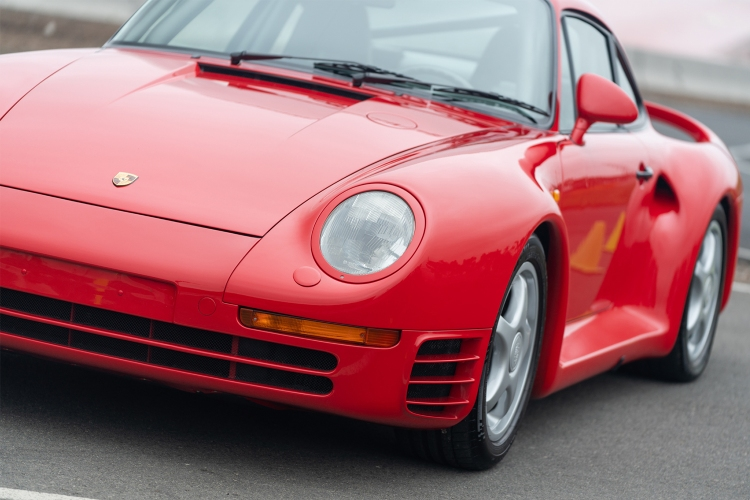 1988 Porsche 959 Sport Pebble Beach 2019