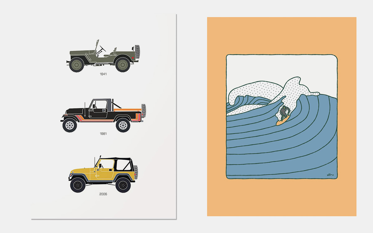 Huckberry Prints Gallery