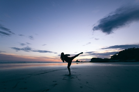 The Best Beach Workout for Fall