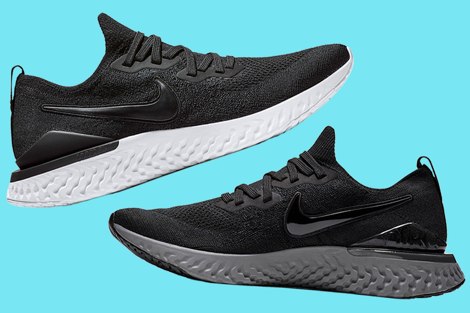 timeless design e3e19 78915 Nike Epic React Flyknit 2 Running Sneakers Are 40% Off ...