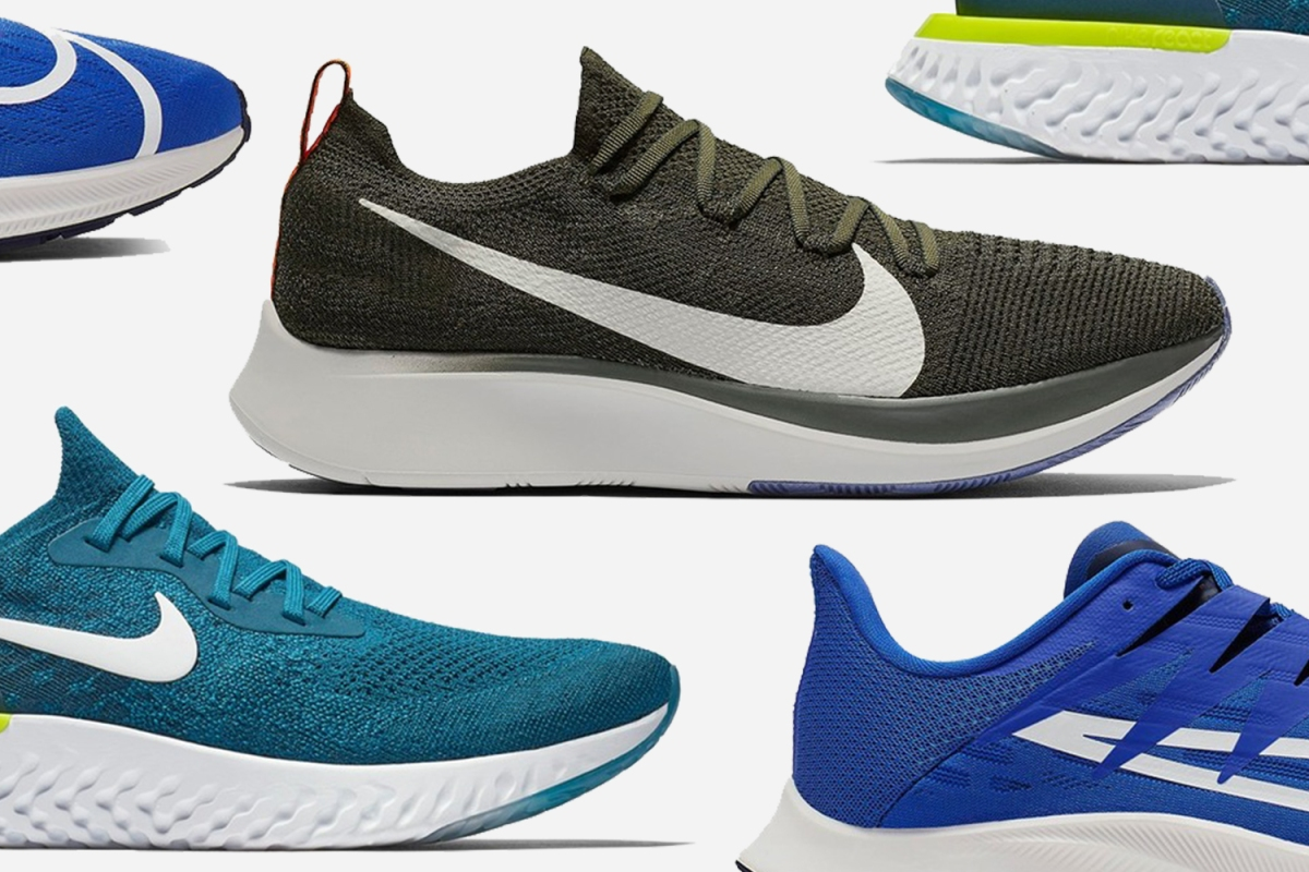 tetraedro Agua con gas Grave  Nike Is Discounted Up to 50% Off, Including Flyknit Running Shoes -  InsideHook