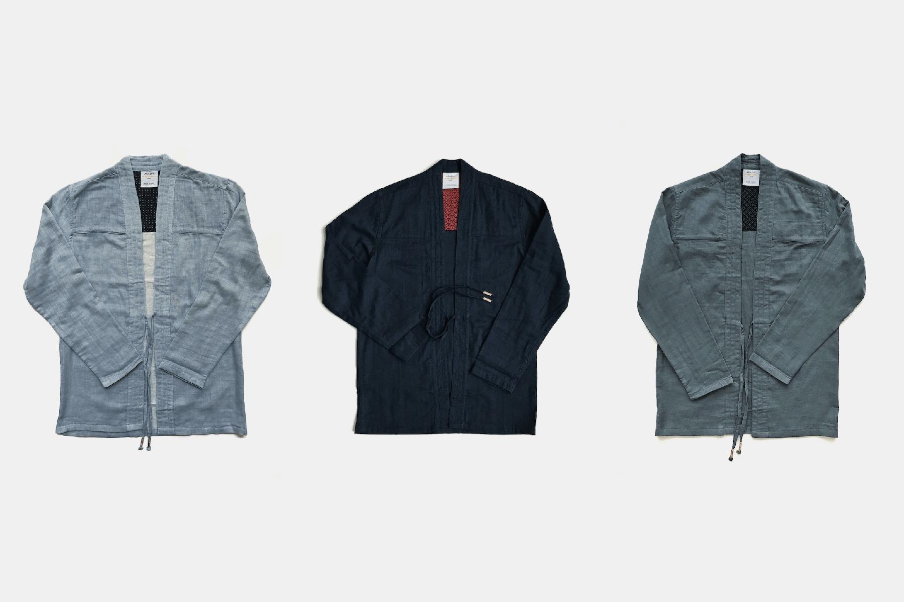 akashi-kama noragi jackets