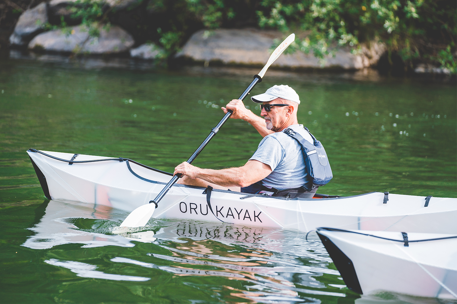 Most Portable Kayak Ever? Oru Kayak's Inlet is Funding on