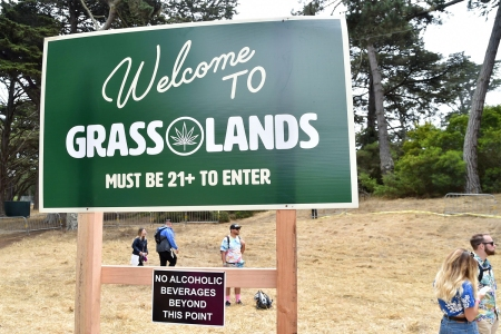 Grass Lands Cannabis Experience at Outside Lands