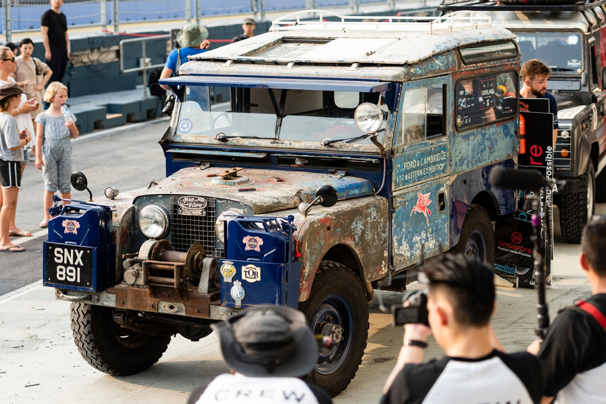The Last Overland 1955 Land Rover Series I