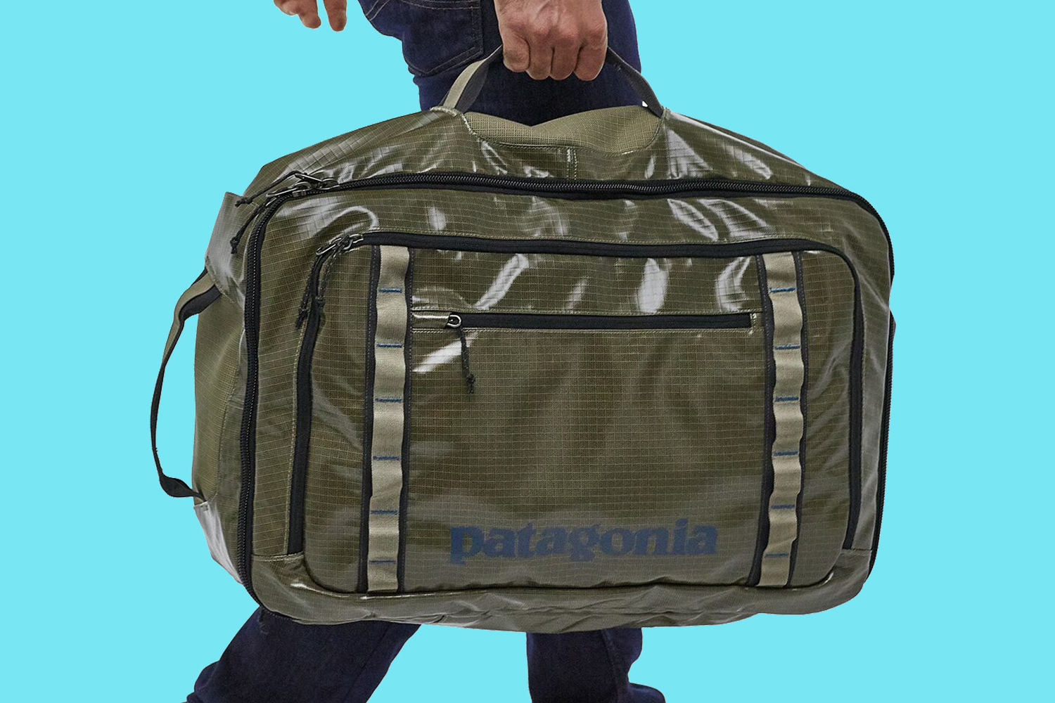 Patagonia Recycled Black Hole Duffel Bags