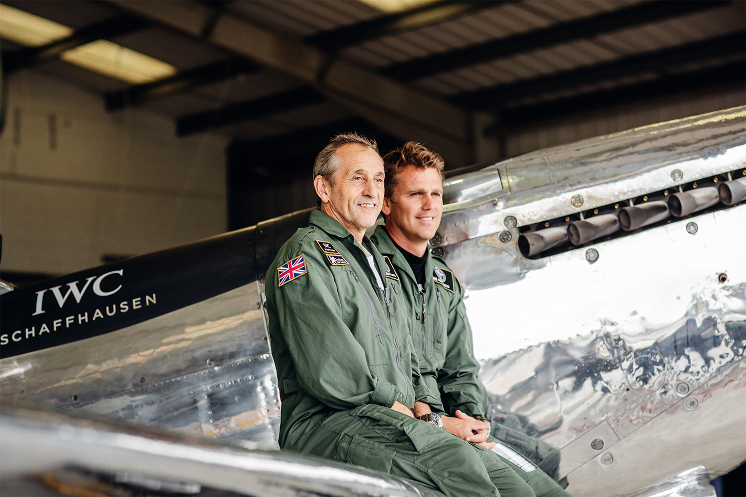 Silver Spitfire The Longest Flight Pilots Steve Boultbee-Brooks and Matt Jones