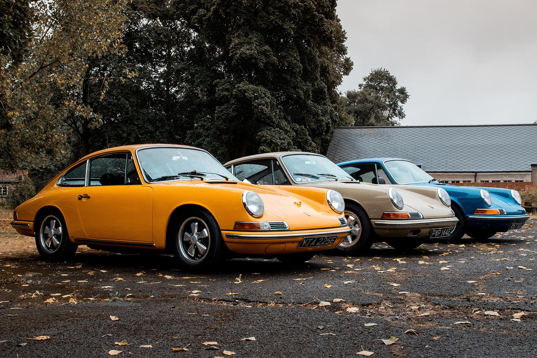 Vintage Porsche Sports Cars