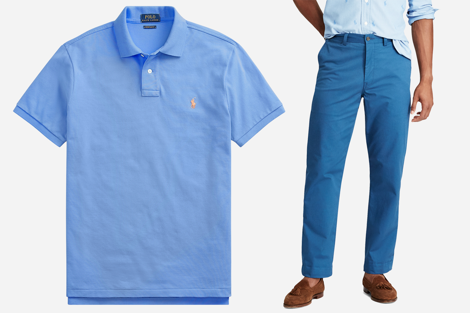 Ralph Lauren Polos and Chinos