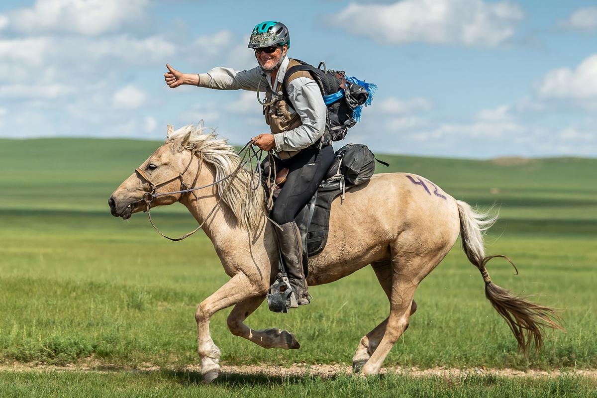 Robert Long, 70-Year-Old American, Wins Mongol Derby