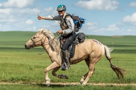 Robert Long, 70-Year-Old American, Wins Mongol Derby
