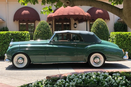 Elizabeth Taylor Green Goddess 1961 Rolls-Royce Silver Cloud II