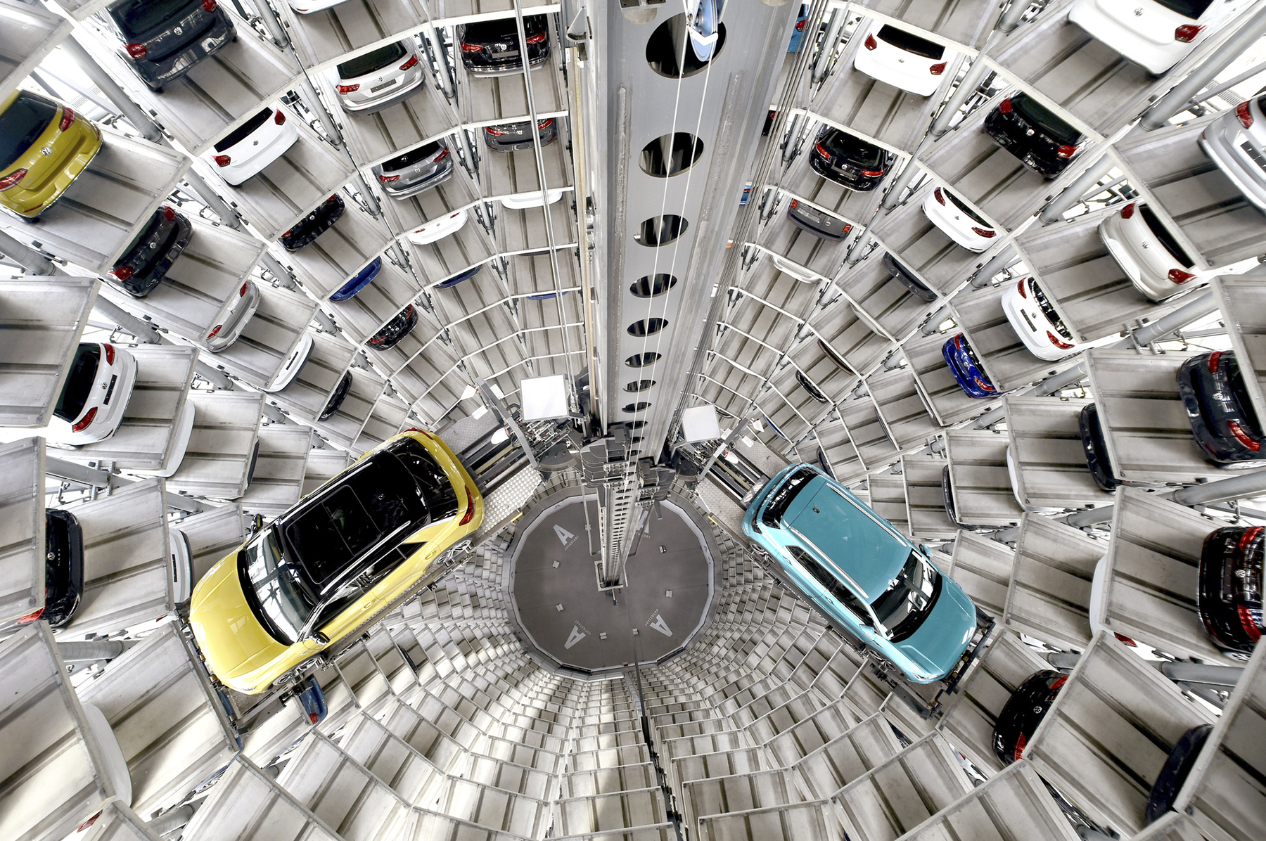 Inside VW's Autostadt, a Willy Wonka Factory for Car Lovers