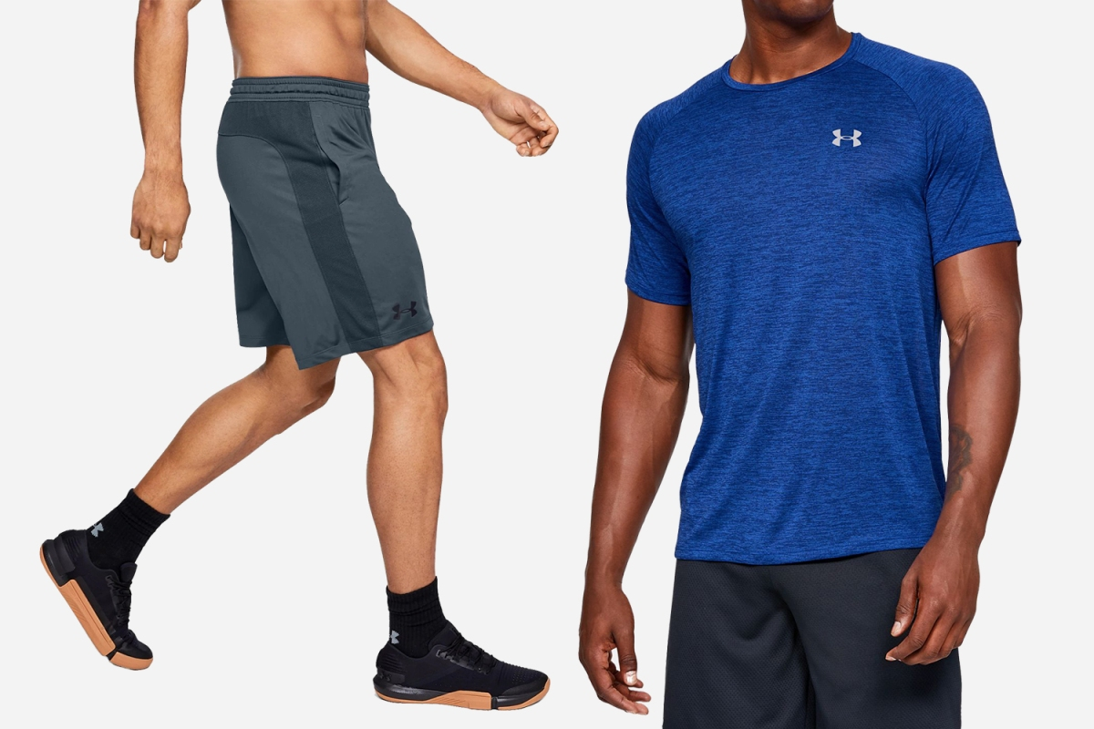 hielo Galaxia Papá  Get Discounted Men's Workout Gear During Under Armour's Outlet Sale -  InsideHook