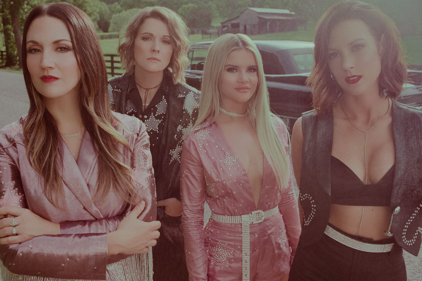 The Highwomen (left to right, Natalie Hemby, Brandi Carlile, Maren Morris and Amanda Shires)