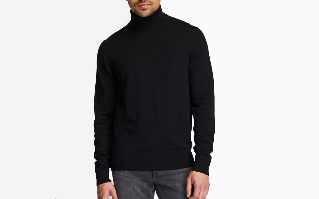 Uniqlo Extra Fine Merino Turtleneck Long-Sleeve Sweater