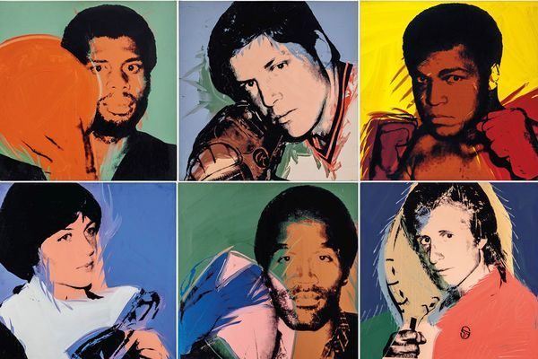 "Andy Warhol's ""Athletes"" Series to Be Sold At Christie's"