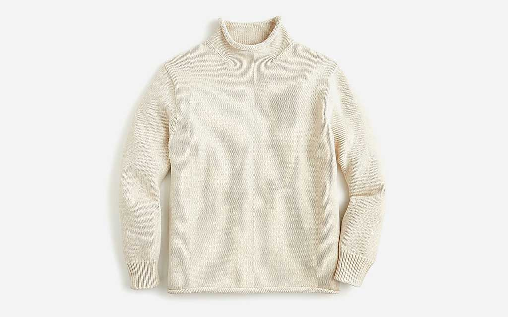 J.Crew Unisex 1988 Cotton Rollneck™ Sweater