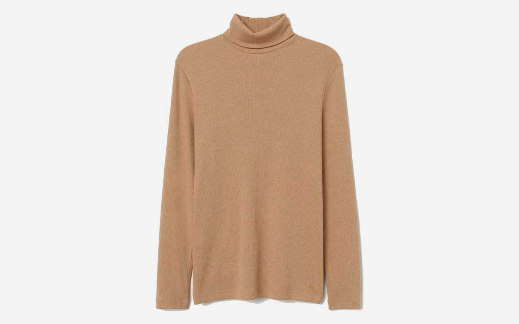 H&M Ribbed Turtleneck Shirt