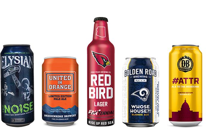 Anheuser-Busch utilise ses marques de bière artisanale pour s'associer aux équipes de la NFL.