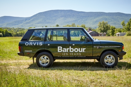 The Barbour Land Rover