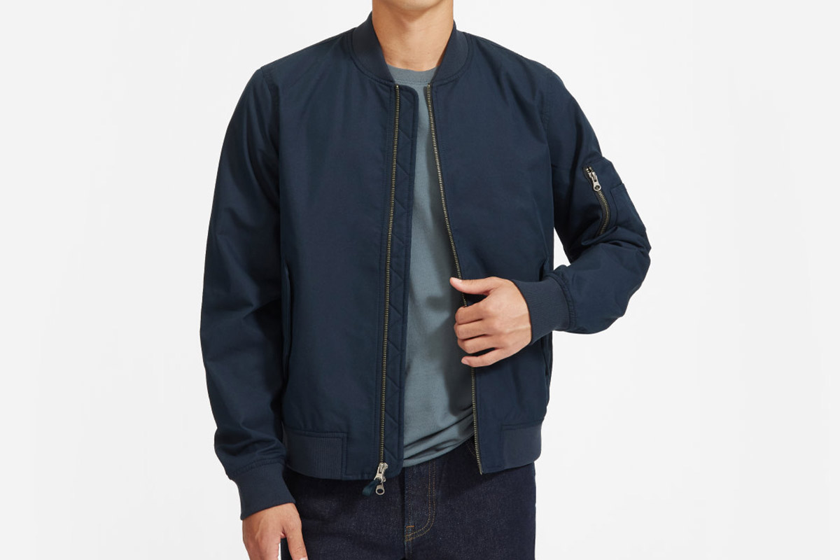 Everlane Uniform Bomber Jacket