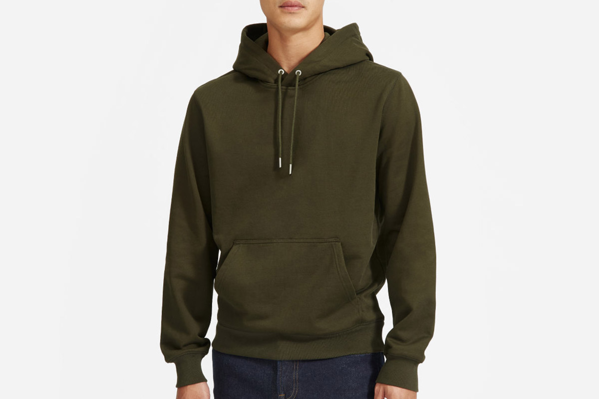 Everlane Uniform French Terry Hoodie