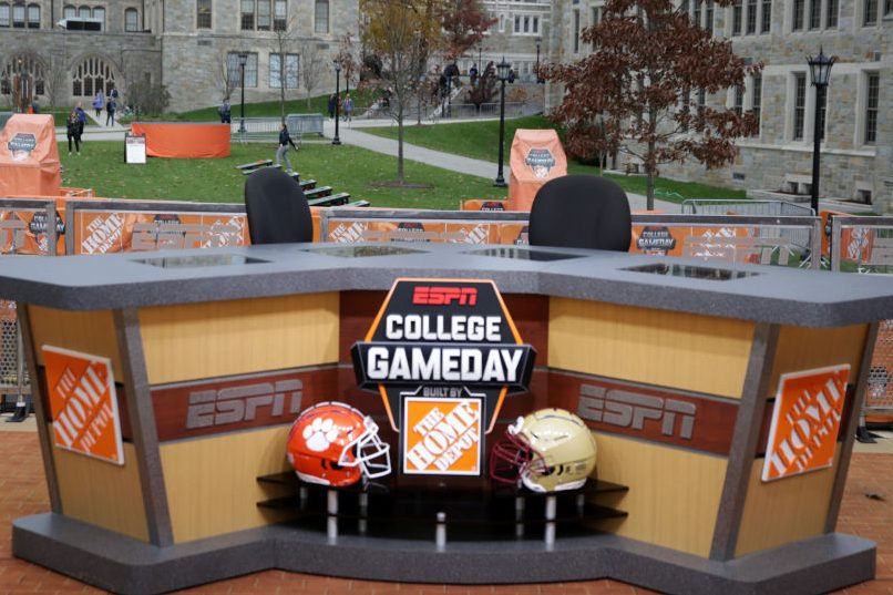 """Fan's Sign at ESPN's """"College GameDay"""" Raises $1M for Charity"""