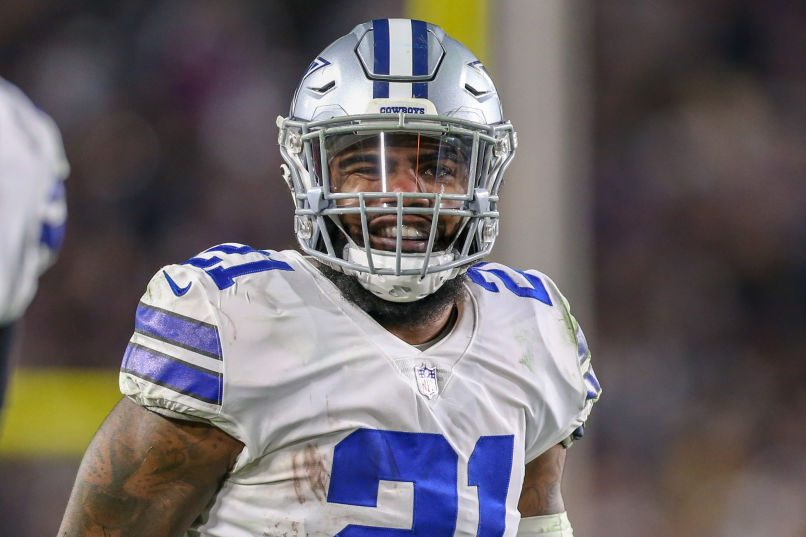 sale retailer aec3b 8dabf Ezekiel Elliott and Dallas Cowboys Agree to New $90M Deal ...
