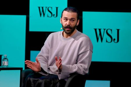 "Jonathan Van Ness speaks onstage at The Wall Street Journal's ""The Future of Everything Festival"" at Spring Studios on May 22, 2019 in New York City. (Photo by Nicholas Hunt/Getty Images)"