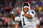Panthers QB Cam Newton Sets Guinness Record for 1-Handed Catches