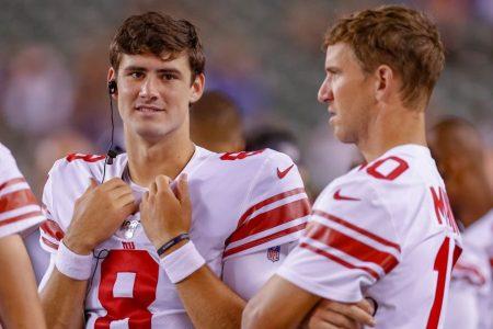 Era Ends As Giants Bench Eli Manning for Rookie Daniel Jones