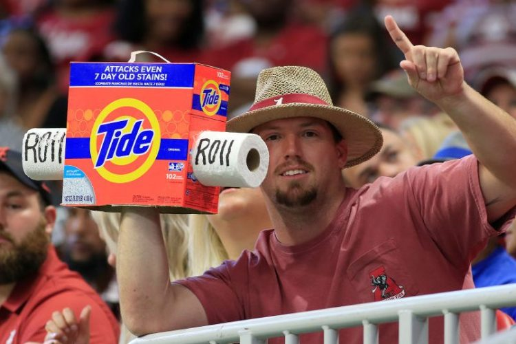 Alabama Using Tide Loyalty Points App to Track Fans and Penalize Them For Leaving Early