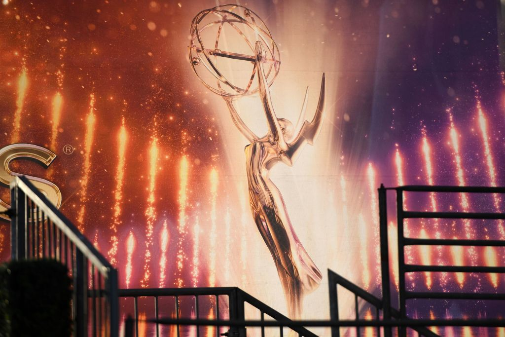 An Emmy Awards statue is pictured ahead of the 71st Emmy Awards on September 21, 2019, in Los Angeles, California. (Photo by Robyn Beck / AFP)        (Photo credit should read ROBYN BECK/AFP/Getty Images)