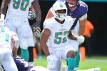 """Miami LB Raekwon McMillan Told to """"Stay Off"""" Tom Brady by Ref After Legal Hit"""